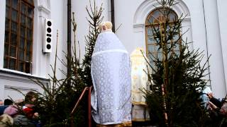 prawosławne uroczystości święta Chrztu Pańskiego Białystok 2013