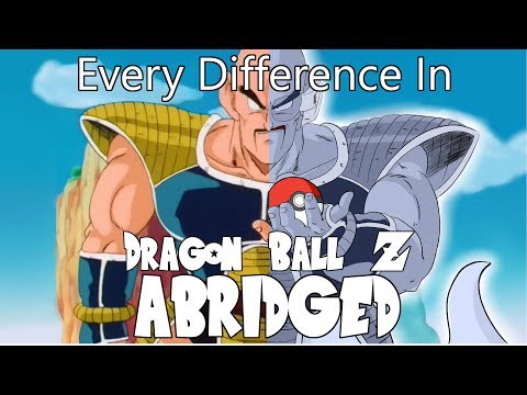 Every Difference In Dragon Ball Z Abridged