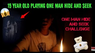 Indian Boy Playing One Man Hide And Seek ChallengeOne Man Hide And Seek In India3 AM Challenge