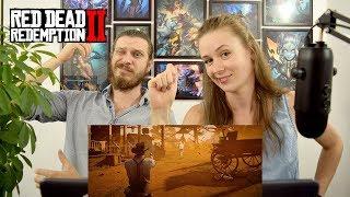 Red Dead Redemption 2 | Трейлер игрового процесса: часть 2 | Реакция