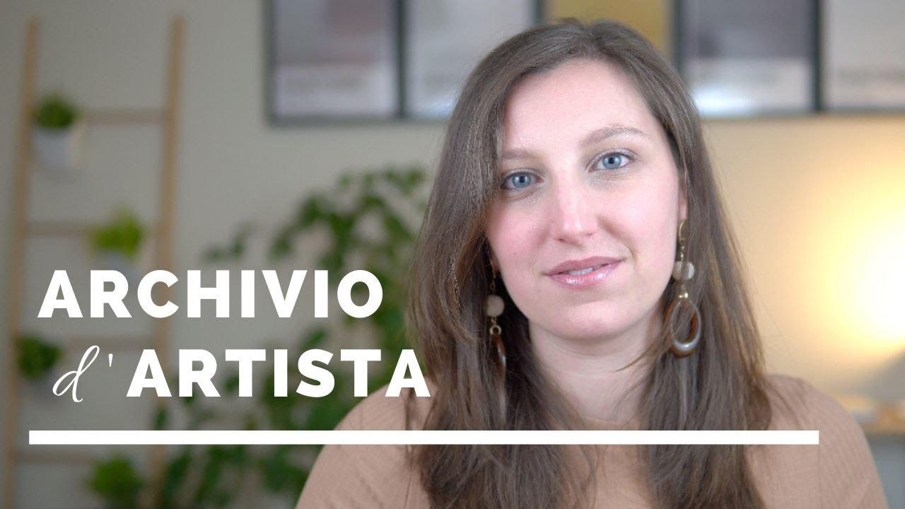 Download Cosa è un Archivio d'artista | Perchè è importante? | Fondazioni e lasciti