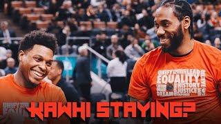 Kawhi Leonard STAYING? - Masai Ujiri Thinks Star Will REMAIN With Raptors