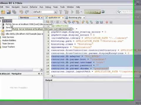 Zend Framework Support in NetBeans IDE for PHP