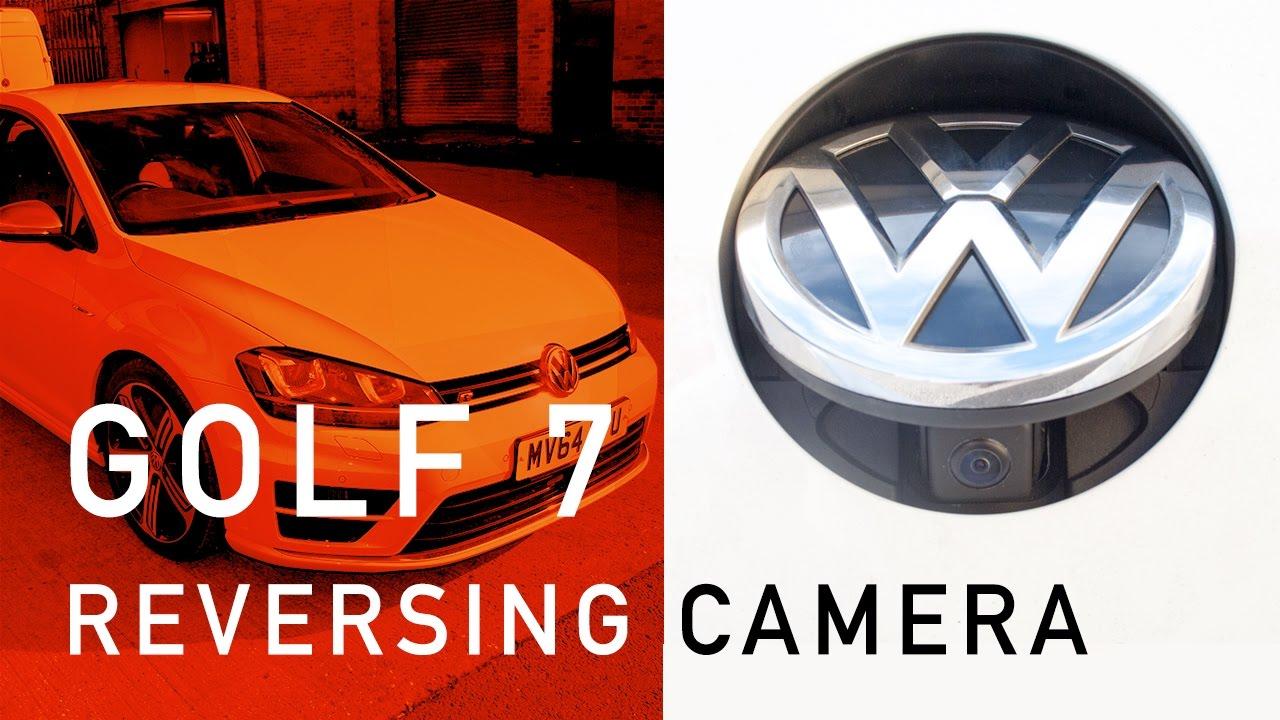 Volkswagen Golf 7 R Factory Style Reversing Camera Kit Install