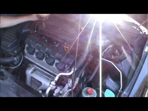 2001 2005 Honda Civic Cam Position Sensor Tdc Sensor Valve Cover Gasket Replacement Youtube