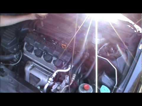 20012005 Honda Civic Cam Position Sensor Tdc Valve Cover. 20012005 Honda Civic Cam Position Sensor Tdc Valve Cover Gasket Replacement Youtube. Honda. 2003 Honda Civic Crankshaft Position Sensor Wiring Harness At Scoala.co