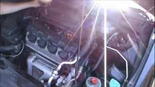 2001-2005 Honda Civic Cam Position Sensor TDC Sensor & Valve Cover Gasket Replacement