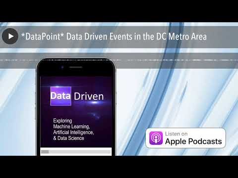 *DataPoint* Data Driven Events in the DC Metro Area