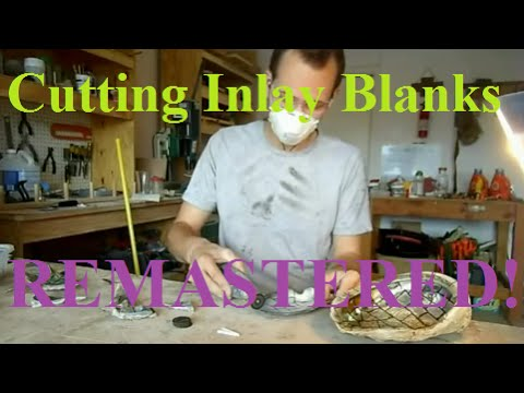 Grinding Whole Mother of Pearl Shells into Usable Inlay Blanks REMASTERED
