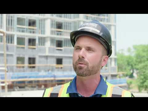 Building Envelope System by Dow used on LEED Hilton Hotel: THERMAX Wall System