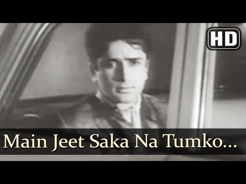 Main Jeet Saka Na Tumko (HD) - Juaari Song - Shashi Kapoor - Kalyanji Anandji - Black & White Song