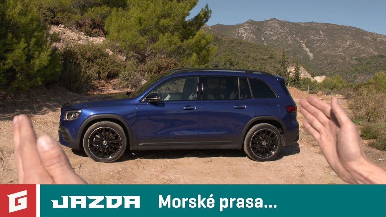 Mercedes-Benz GLB 220d 4MATIC - Prvá jazda - SUV - GARÁŽ.TV - YouTube