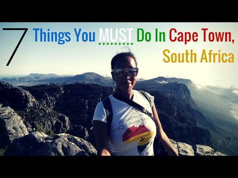 7 Things You MUST Do In Cape Town, South Africa