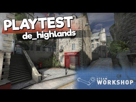 CS:GO pályateszt: de_highlands  - Káosz egy skót kisvárosban