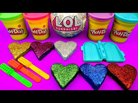 learn-colors-glitter-ice-cream-toys-out-of-play-doh-learn-numbers-pj-masks-lol-surprise-toys