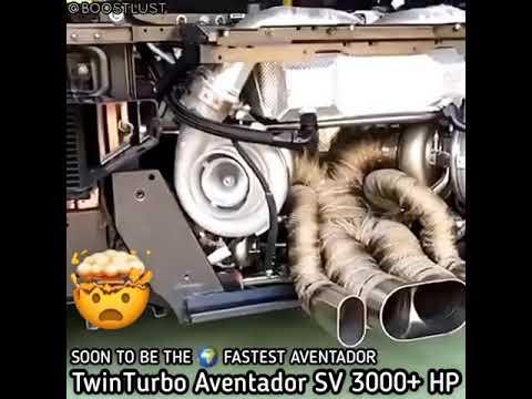 3000BHP AVENTADOR SV EXHAUST SOUND