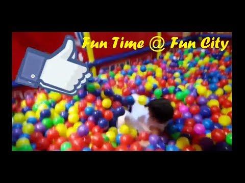 Ball pit @ Fun City Abu Dhabi Mall