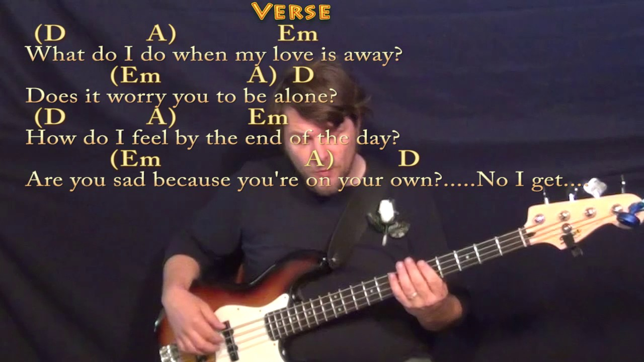 With a little help from my friends beatles bass guitar cover with a little help from my friends beatles bass guitar cover lesson in d chordslyrics hexwebz Choice Image