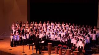 Shine On Me - 2015 CMEA Central Coast Section (CCS) Middle School Honor Choir