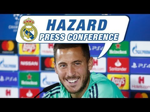 Hazard and Zidane | Real Madrid vs Club Brugge press conference (Champions League)