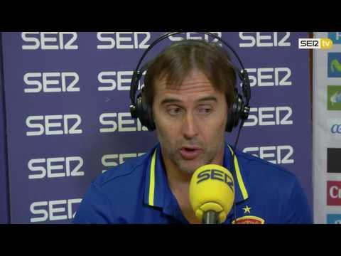 """Lopetegui: """"¿Casillas? No se negó a nada"""". Cadena SER"""