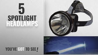 Top 5 Spotlight Headlamps [2018]: Odear Super Bright Headlamp Rechargeable LED Spotlight with