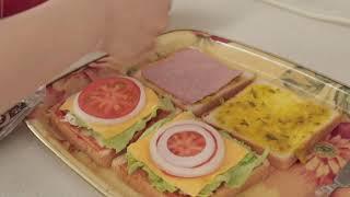 노브랜드 토스트기로 샌드위치 만들어 먹은 날