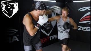 YouTuber vs Pro Boxer: Shane Fazen Sparring Chris Algieri