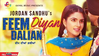 New Punjabi Song 2020 | Feem Dian Dalian | Jordan Sandhu | KDG | Latest Punjabi Songs 2019