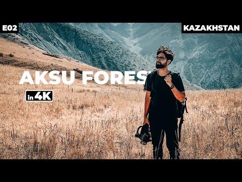 HIKING IN KAZAKHSTAN | Aksu Zhabagly Nature Reserve | Part 2 - 4K