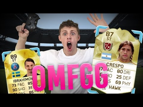 FIFA 16 - NO F**KING WAY IBRA AND LEGEND WAGER!!!!