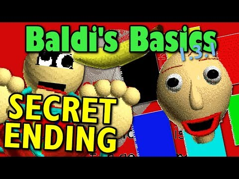 BALDI'S SECRET ENDING /ALL FAILED NOTEBOOKS(Baldi's Basics In Education And Learning)Manly Lets Play