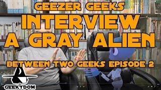Interview with a Gray Alien (VR / Live Action Animation)