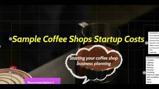 Before You Start Your Coffee Shop Budget Planning - The Elements? (Presentation)