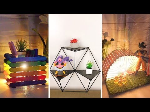 10 Amazing DIY Room Decorating Ideas for Teenagers 2019 (DIY Wall Decor, Pillows, etc.)