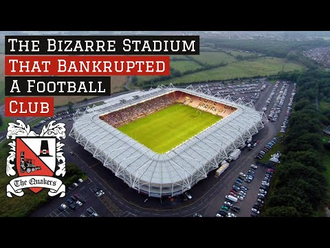 The Bizarre Stadium That BANKRUPTED A Football Club