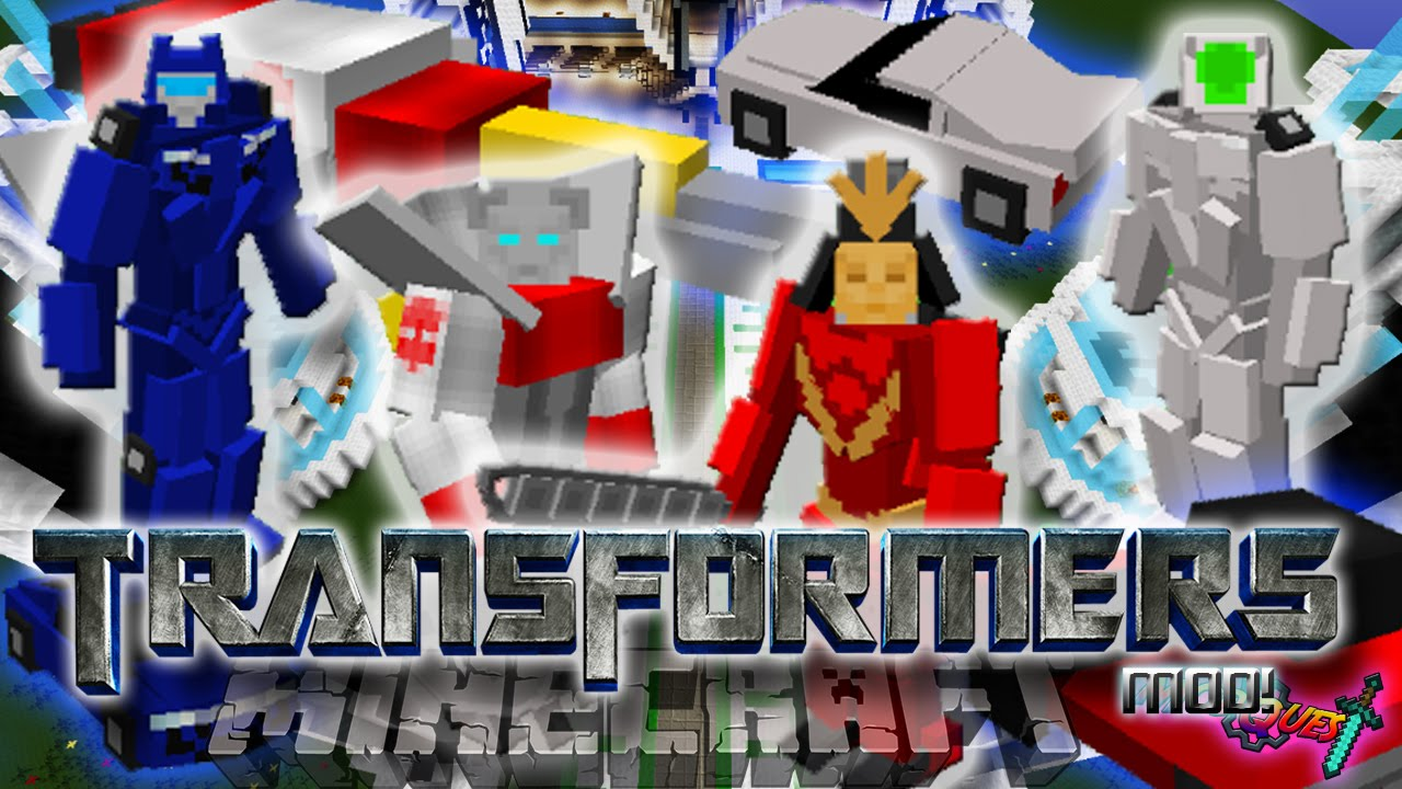 Minecraft TRANSFORMERS Mod Transform In Vehicles With