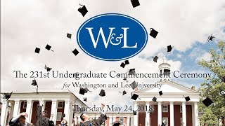 Gambar cover Washington and Lee University Undergraduate Commencement 2018