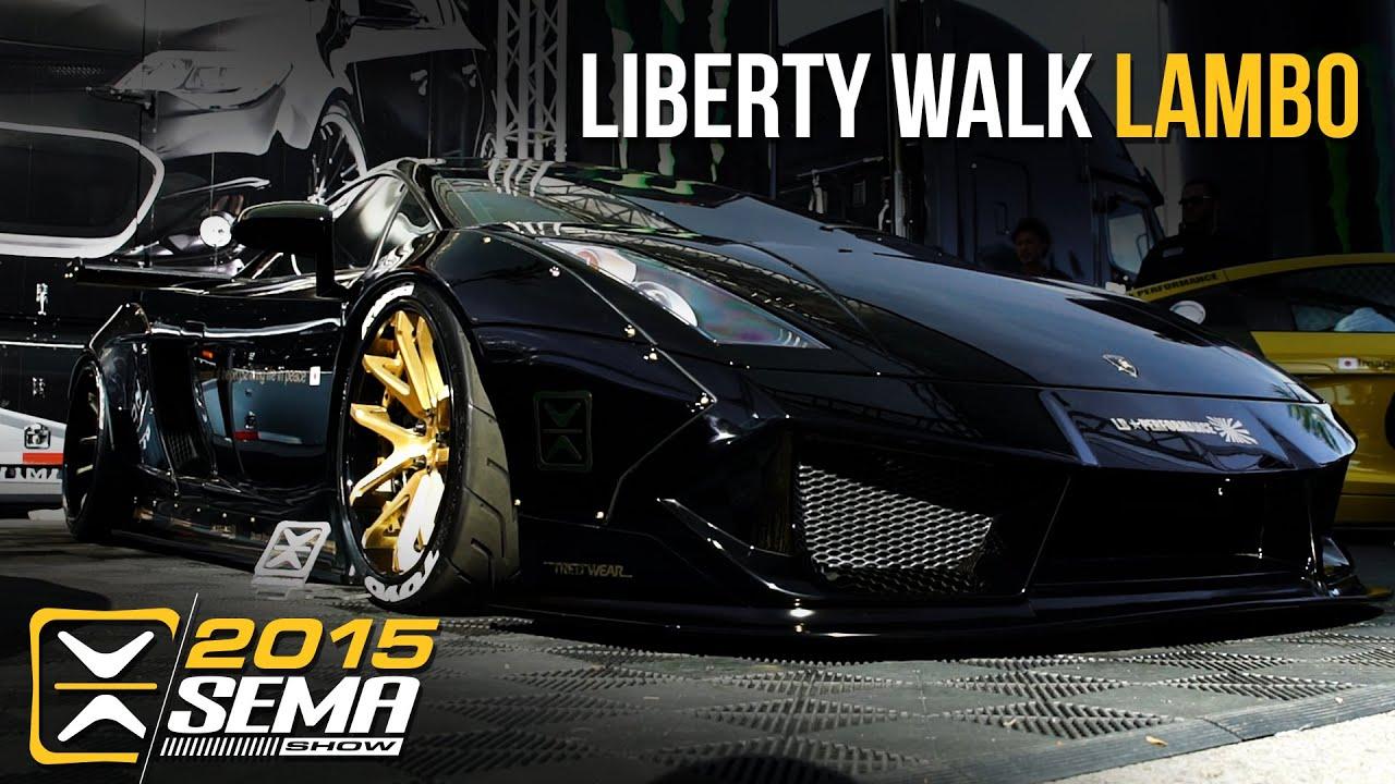 Sema 2015 1st Liberty Walk Lamborghini Gallardo Optimus
