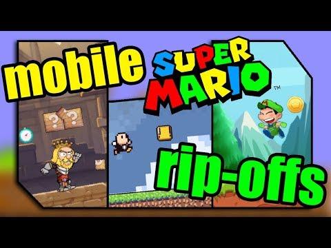 We Found Green Mario! - Super Mario Bros. Mobile Rip-off Games