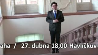 Pozvání ze zámku v  Mannheimu