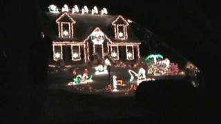 2007 Wired For Christmas Light Show Raymond NH from left