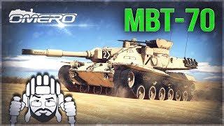 Mbt-70 «ОЧЕНЬ БОЛЬНО ПО ЛИЦУ» в War Thunder