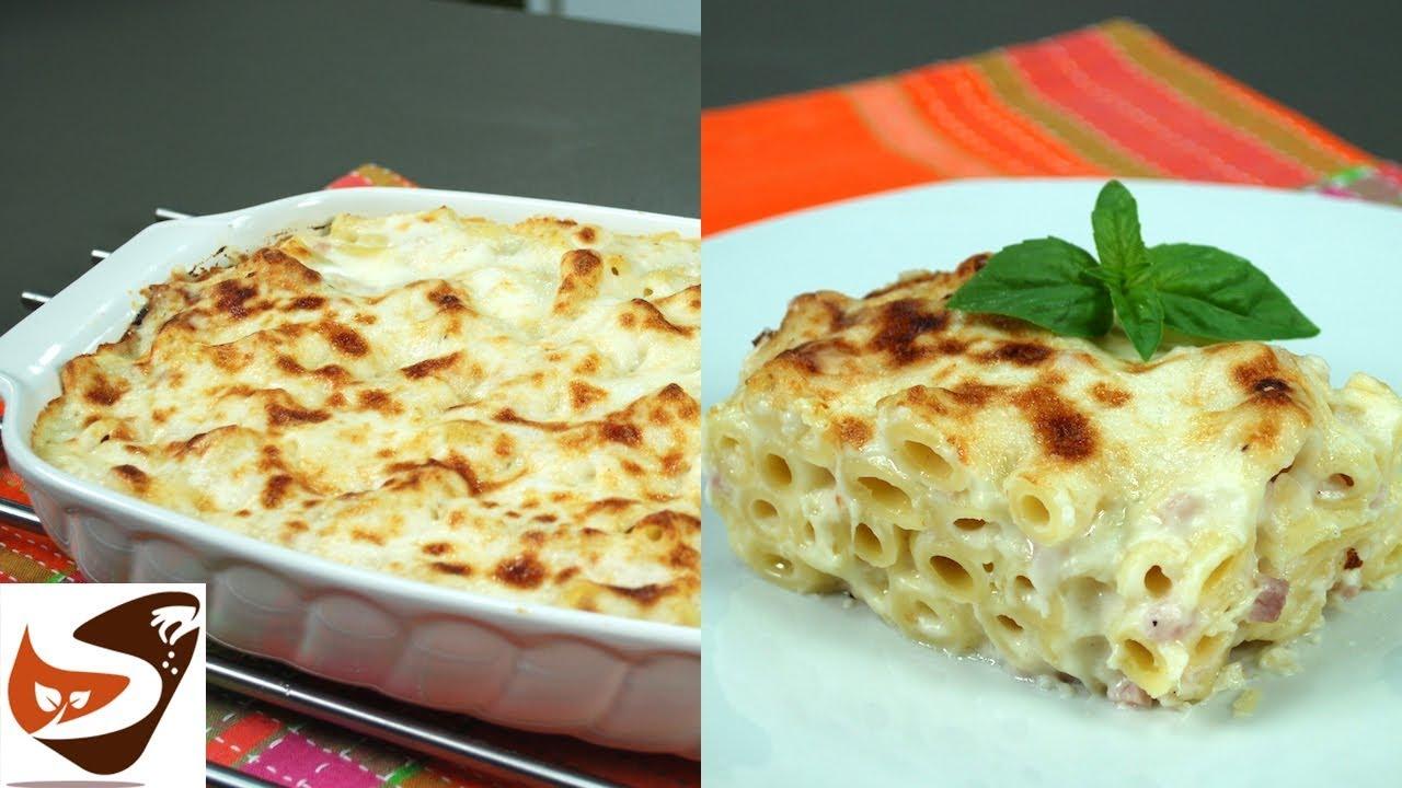 Pasta al forno con besciamella semplice veloce e gustosa for Primi piatti di pasta