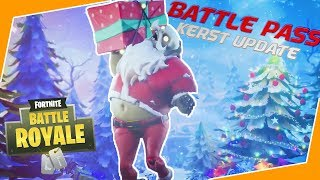 CHRISTMAS UPDATE + BATTLEPASS BOUGHT! (Fortnite Battle Royale)