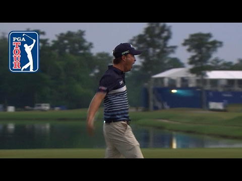 Kevin Kisner's epic hole-out to force a playoff at Zurich