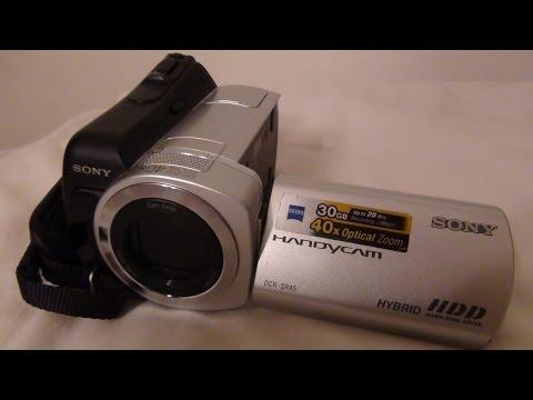 2008 Sony Handycam DCR SR45 Review