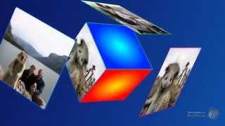Итоговый урок № 11-4. 3D Cube. Cбор из одиночных слайдов по принципу домино