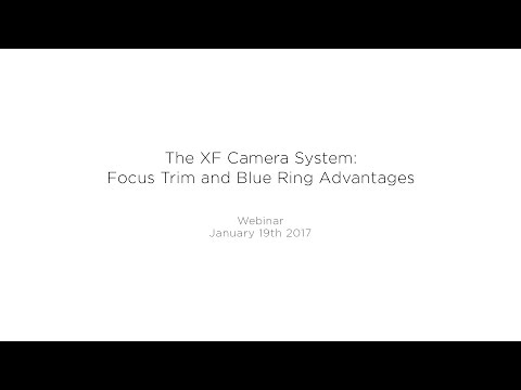 Webinar: The XF Camera System: Focus Trim and Blue Ring Advantages | Phase One