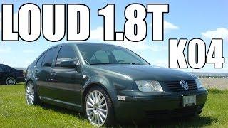 1999-2005 VW Jetta 1.8T - Open downpipe cutout + K04 Turbo (Pure Sound)